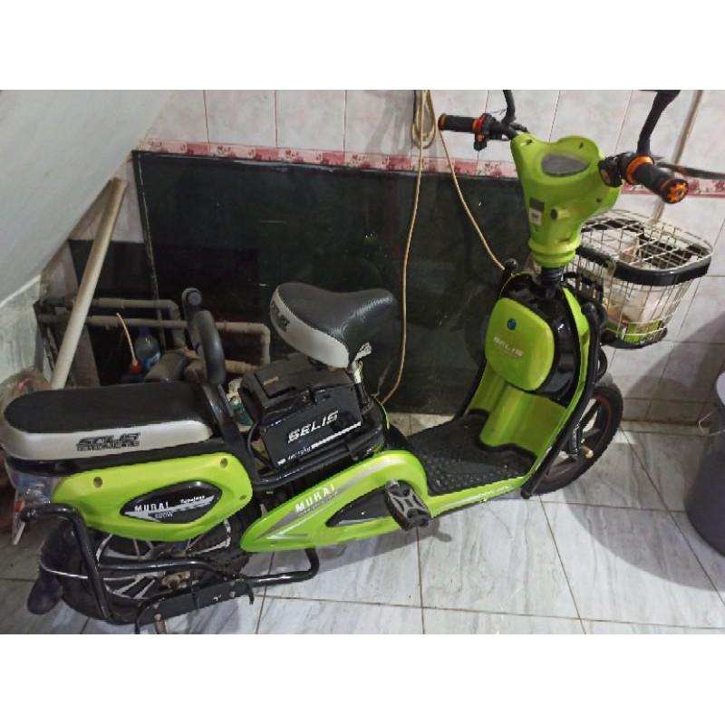 sepeda listrik selis bekas