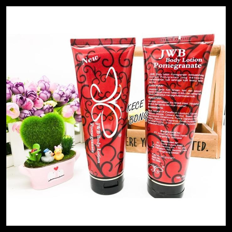 REDPOME BPOM BY JWB SKINCARE RED POME BODY LOTION INSTANT | Shopee Indonesia