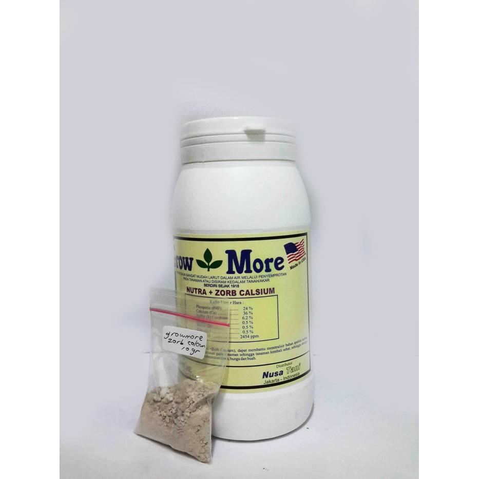 100 Gram Pupuk Tanaman Bunga Buah 6 30 Npk Growmore Grow More Nutrisi Dan 454gram Import Usa Shopee Indonesia