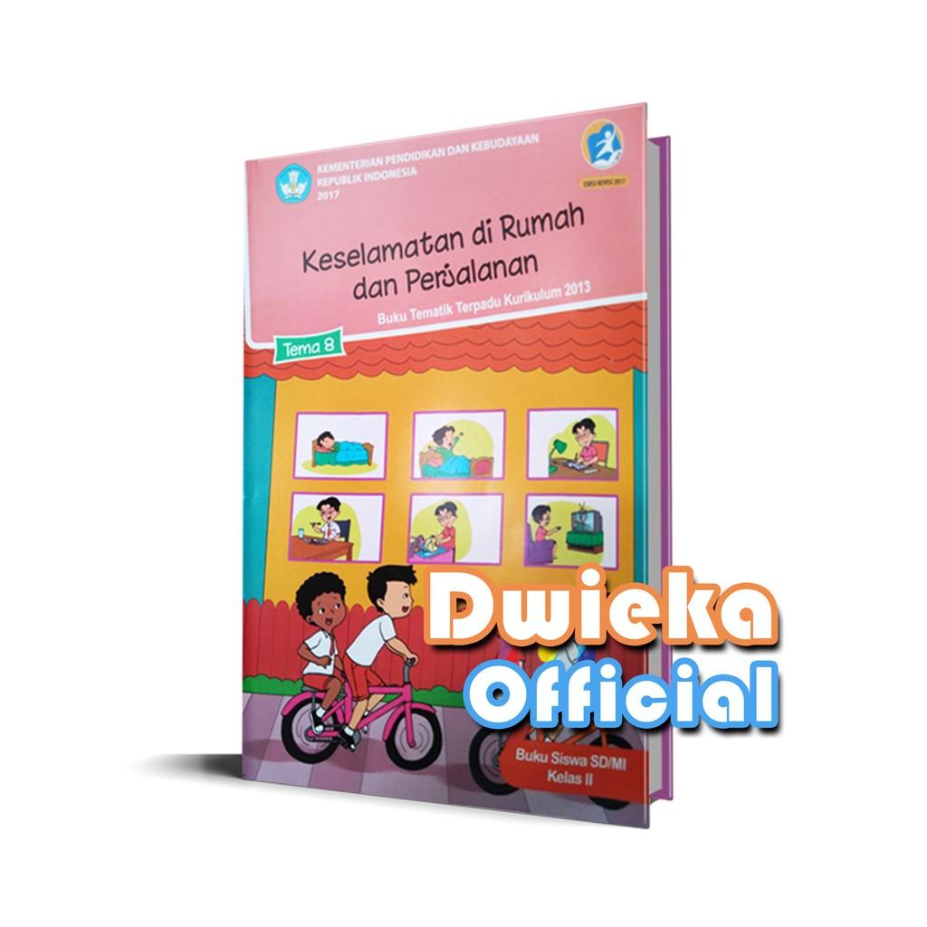 "Buku Tematik Kelas 4 Tema 8 "" Daerah Tempat Tinggalku "" Kurikulum 2013 Edisi Revisi 2017 | Shopee Indonesia"