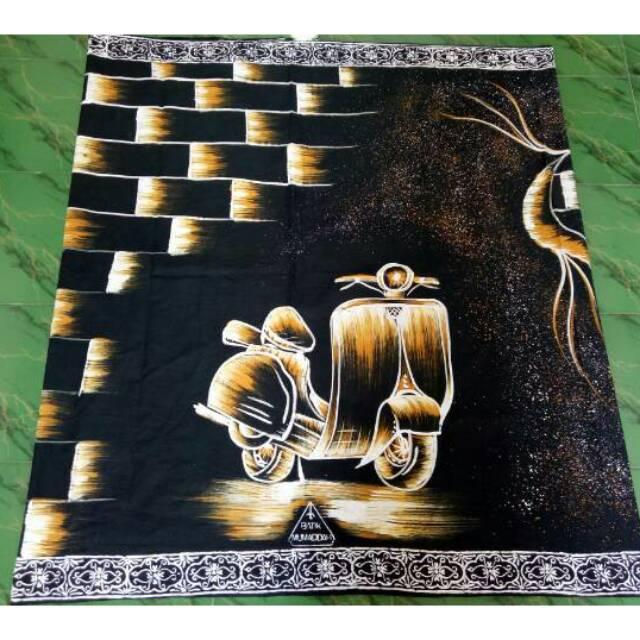 Batik TULIS motif VESPA