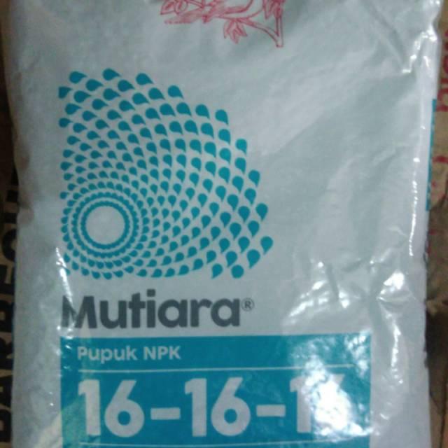 Pupuk Npk Mutiara 16 16 16 1kg