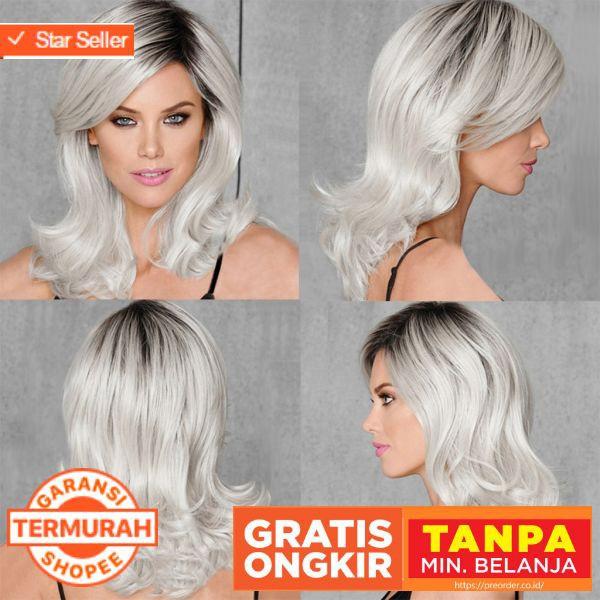 wig rambut wanita - Temukan Harga dan Penawaran Aksesoris Rambut Online  Terbaik - Aksesoris Fashion Desember 2018  cede5e9f45