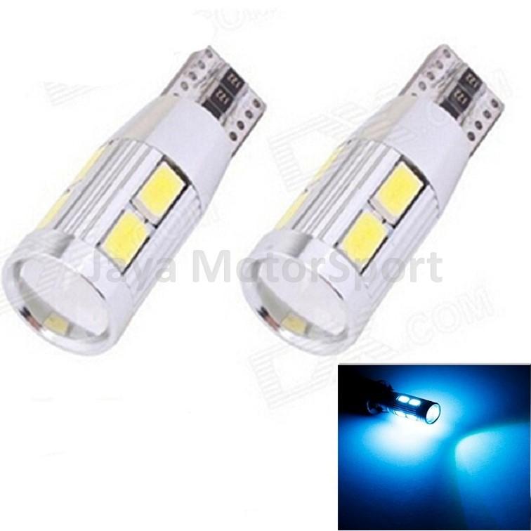 Lampu LED Mobil Motor Senja T10 Wedge Side CANBUS 10
