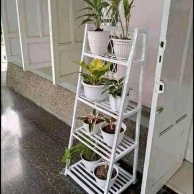 Rak Bunga Besi Rak Fas Bunga Besi Penghias Ruang Tamu Dan Balkon Rak Pot Bunga Besi Rak Tanaman Hias Shopee Indonesia