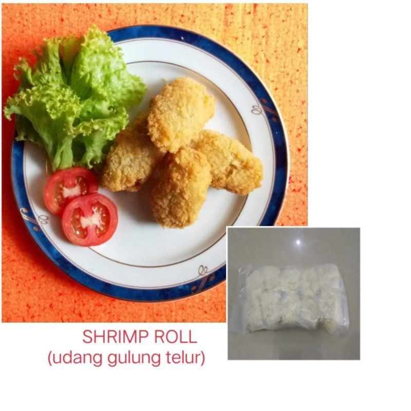Shrimp Roll Udang Gulung Telur Isi 10 Shopee Indonesia