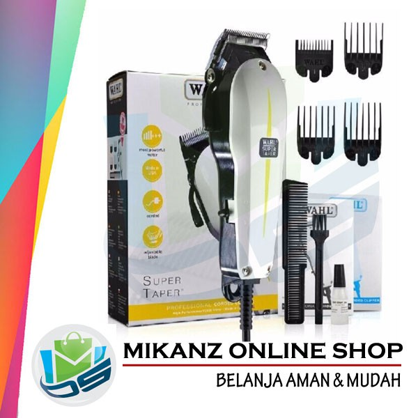 BEST CLIPPER WAHL ORIGINAL 2110 ALAT CUKUR RAMBUT 5288cd91f4