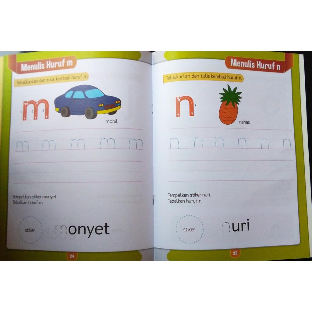 Buku Anak TK PAUD BALITA SMART KIDS BAHASA 4 5 TAHUN