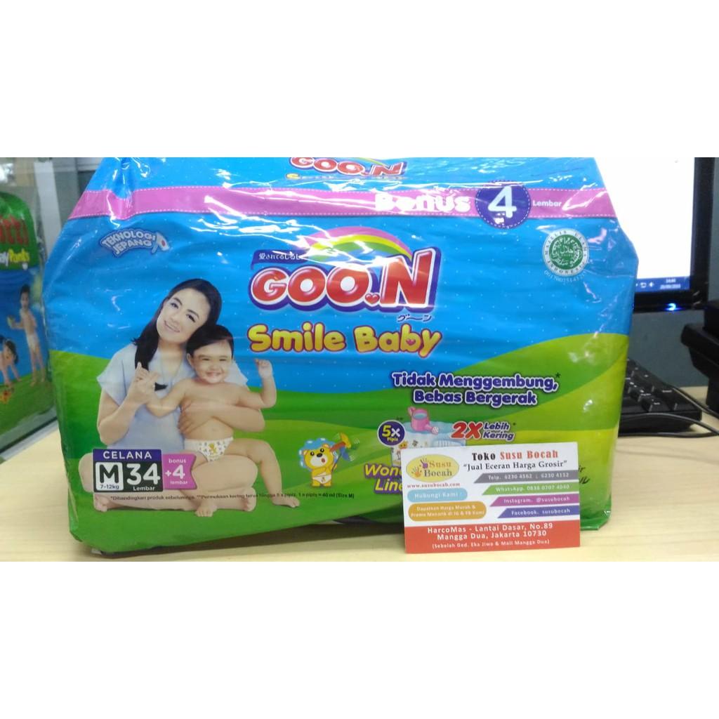 Toko Online Susubocah89 Shopee Indonesia Goon Smile Baby L30