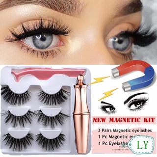 COD SKONHED 1 Set Eyeliner Magnetik 5 Magnet Anti Air Tahan Lama thumbnail
