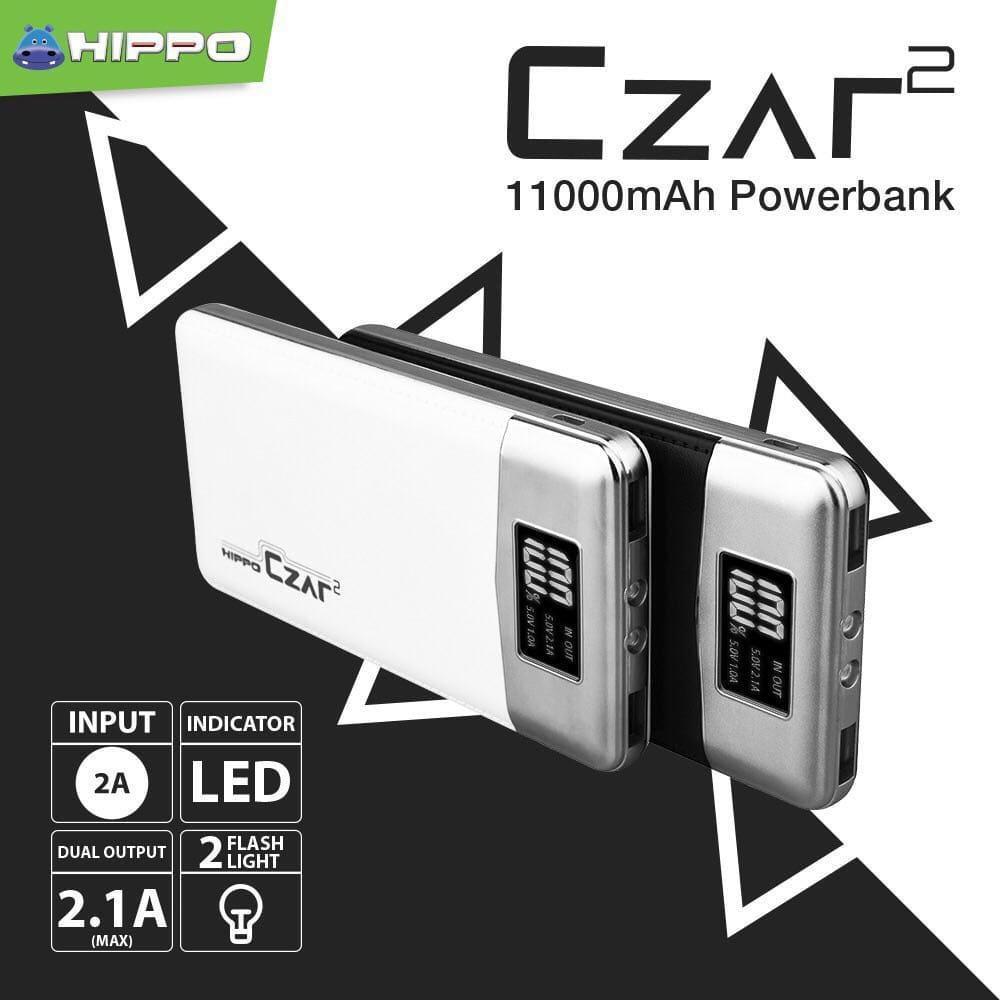 Hippo Powerbank Bronz X Simple Pack 7500mah Dual Output Original100 Power Bank 7500 Mah Putih Ac007 Shopee Indonesia