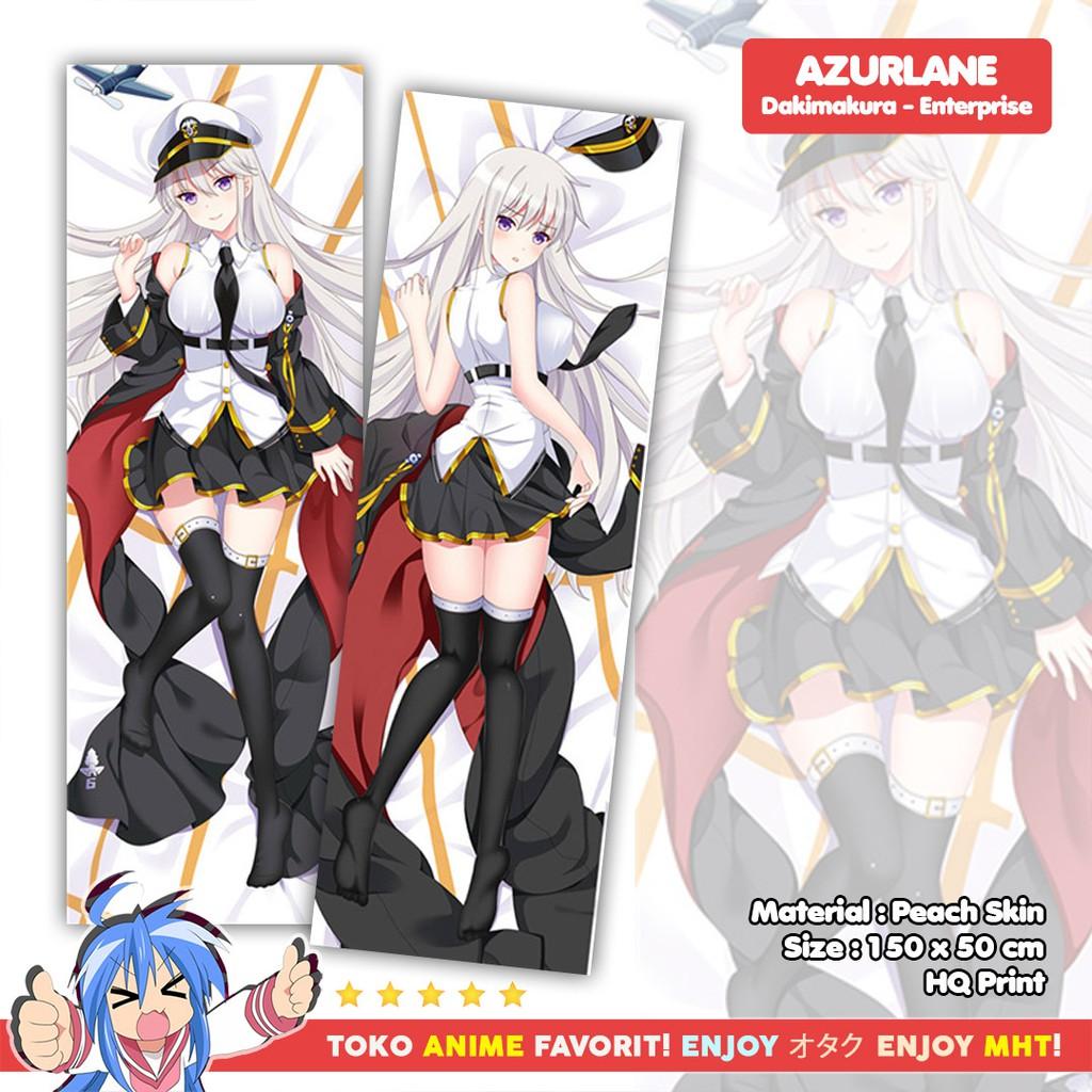 Sarung Bantal Anime Dakimakura Azur Lane : Enterprise