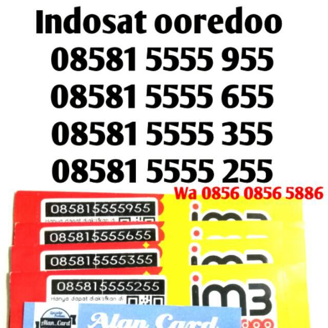 Perdana nomor cantik telkomsel Simpati murah mudah dihapal unik Serba angka 555 77 | Shopee Indonesia