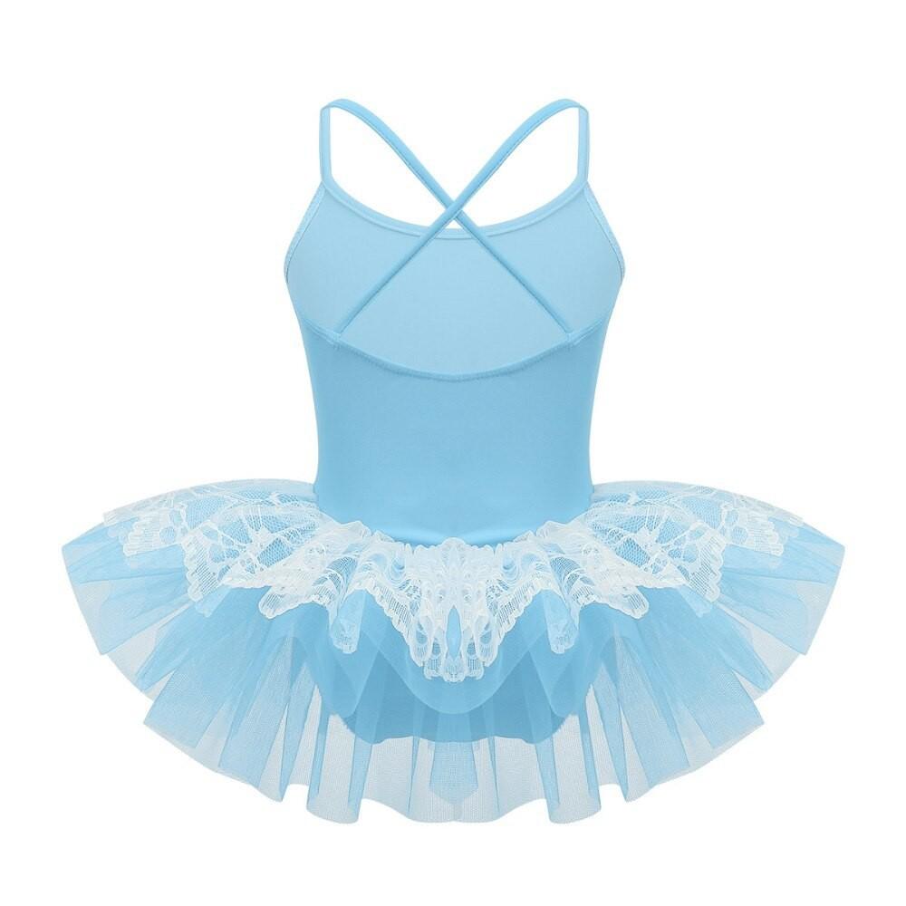 YiZYiF Girls Tutu Ballet Leotard Dance Dress Ballerina Fancy Fairy Costume