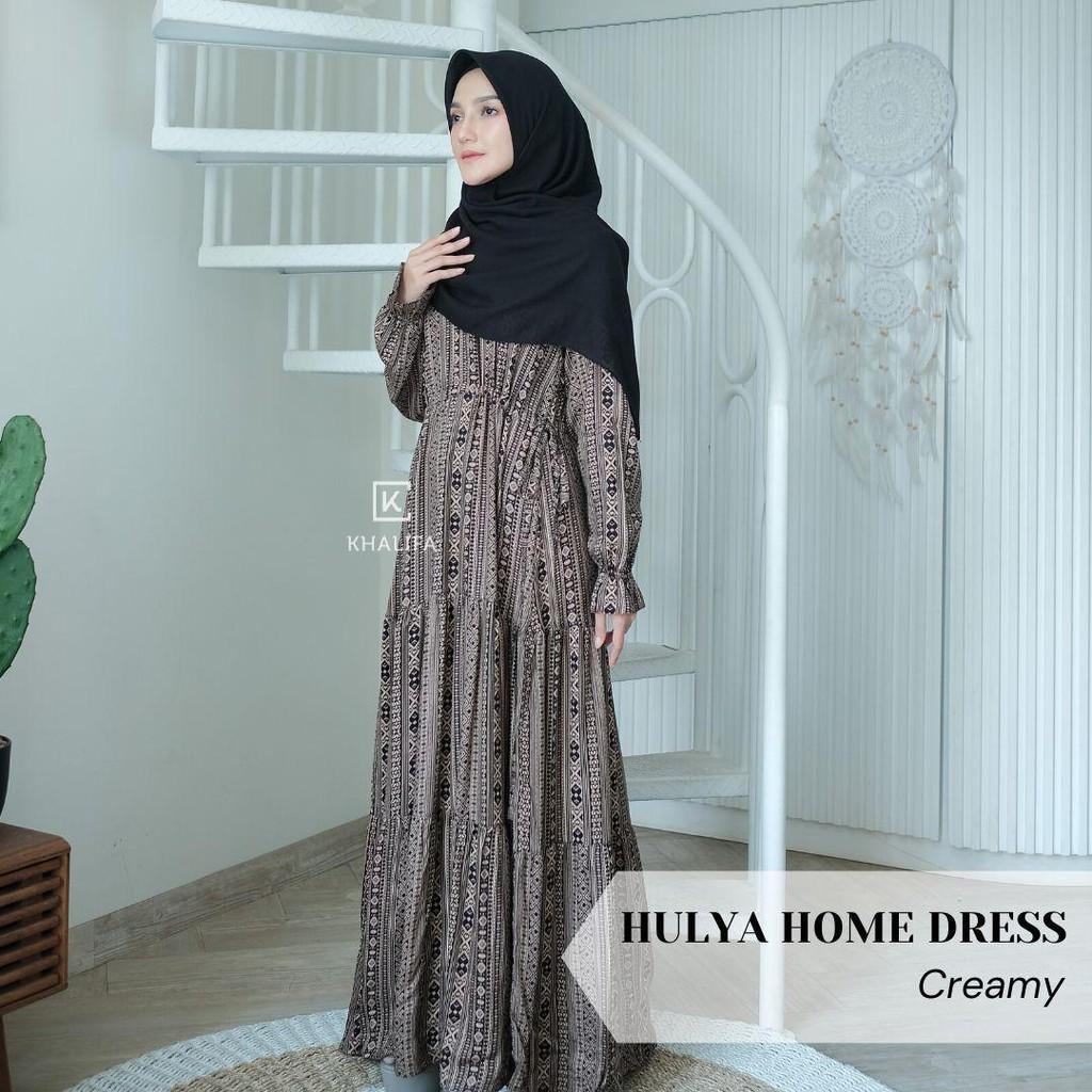 HULYA HOME DRESS GAMIS RUMAH KATUN RAYON BY NAYARA HIJAB