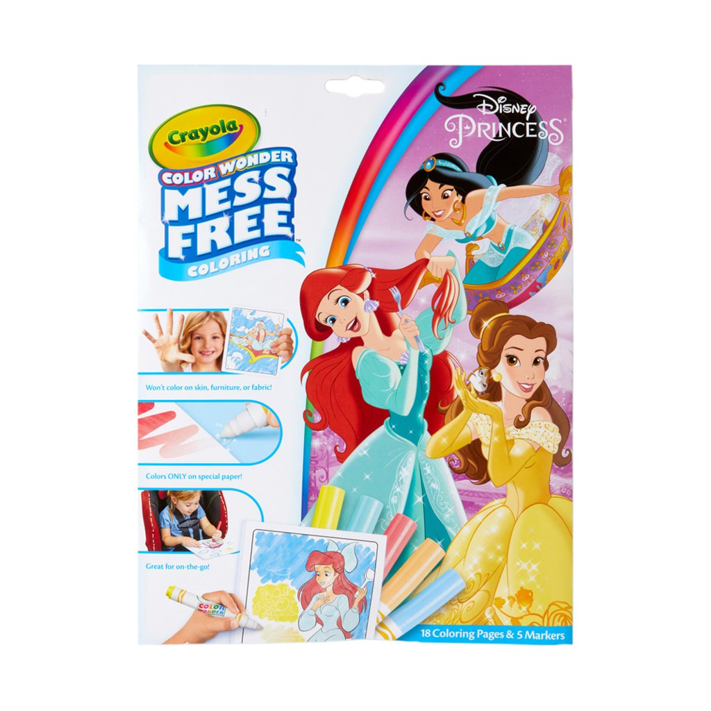 Crayola Color Wonder Mess Free Coloring Pages Markers Baby Shark Frozen Pororo Tayo Toy Story Shopee Indonesia