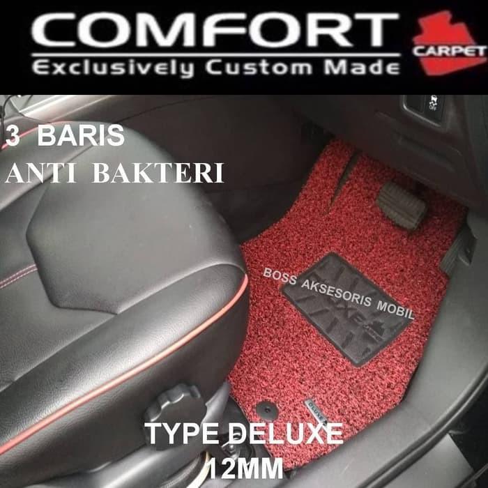Aksesoris Karpet Comfort Deluxe Xpander Livina 2019 Mobilio BRV Tanpa Bagasi