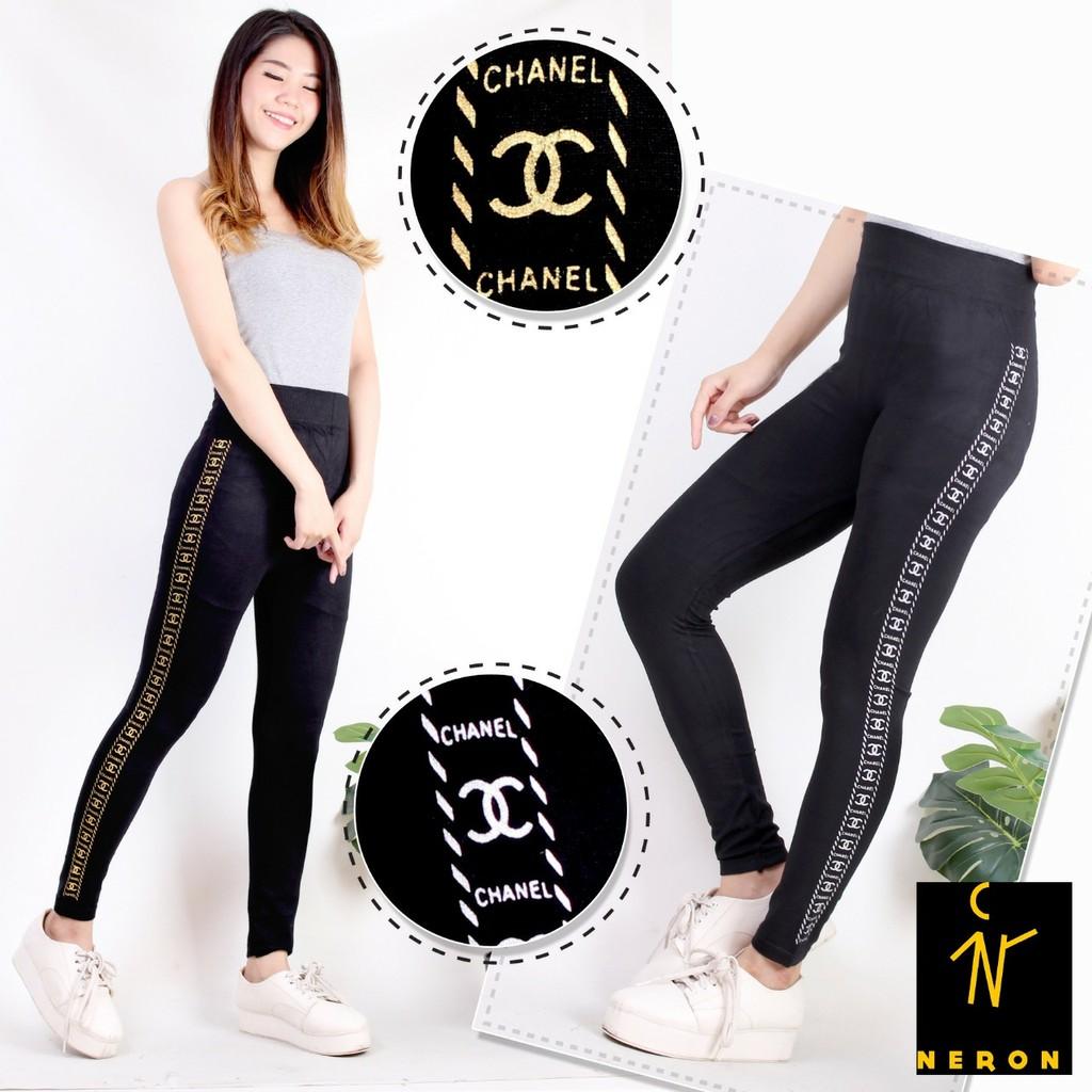 Leging Import Wanita Kekinian Bahan Spandek Elastis Celana Olahraga Senam Legging Zumba Best Quality Shopee Indonesia