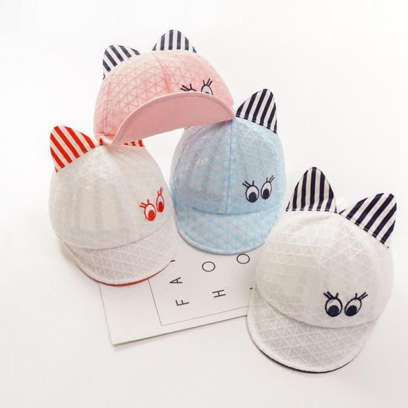 Children Lovely Cat Hat Cap Cute Breathable Hat Kids Hat Boy Girls Hats Caps