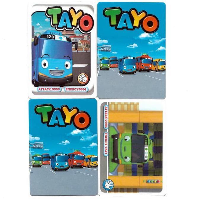 Kartu Little Bus Tayo Mainan Trading Card Game Shopee Indonesia