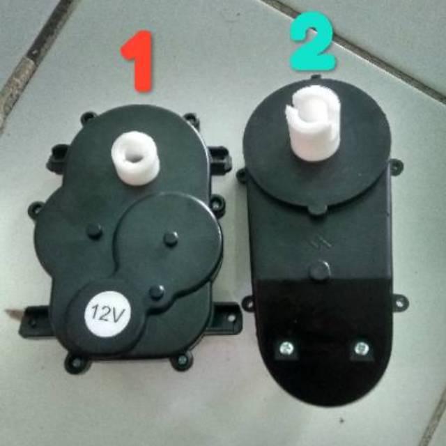 Gearbox Setir 12v Mobil Mainan Aki Shopee Indonesia