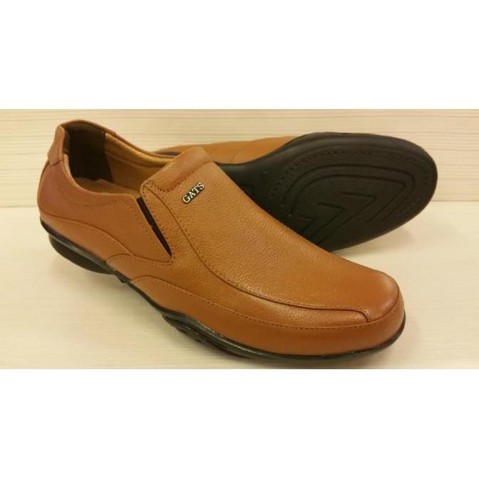 Produk Baru Sepatu Pria Cowo Terbaru Gats Ori Slop Kasual Kulit Asli Murah  To 3 Tn Produk Terlaris  6109007da4