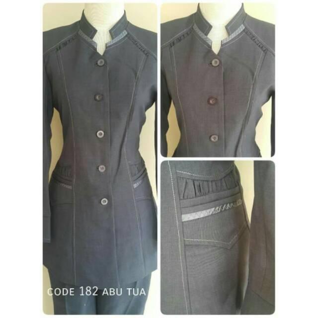 Setelan celana rok blazer formal pemda  a8b499eebe