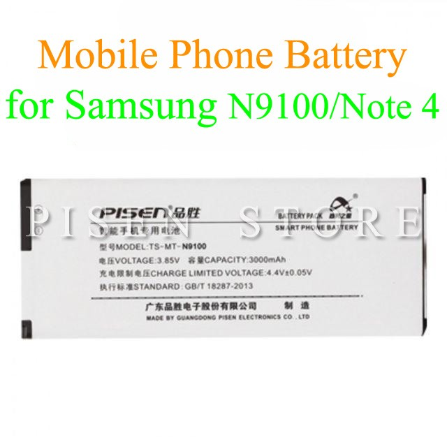 Pisen Smartphone Battery Samsung N9100