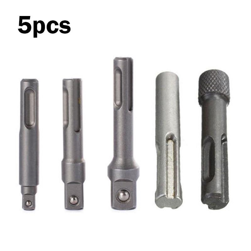 """3 Piece Socket Screwdriver Set 1//4/"""" SDS Plus Shank For Sockets 1//4/"""" 3//8/"""" 1//2/"""""""