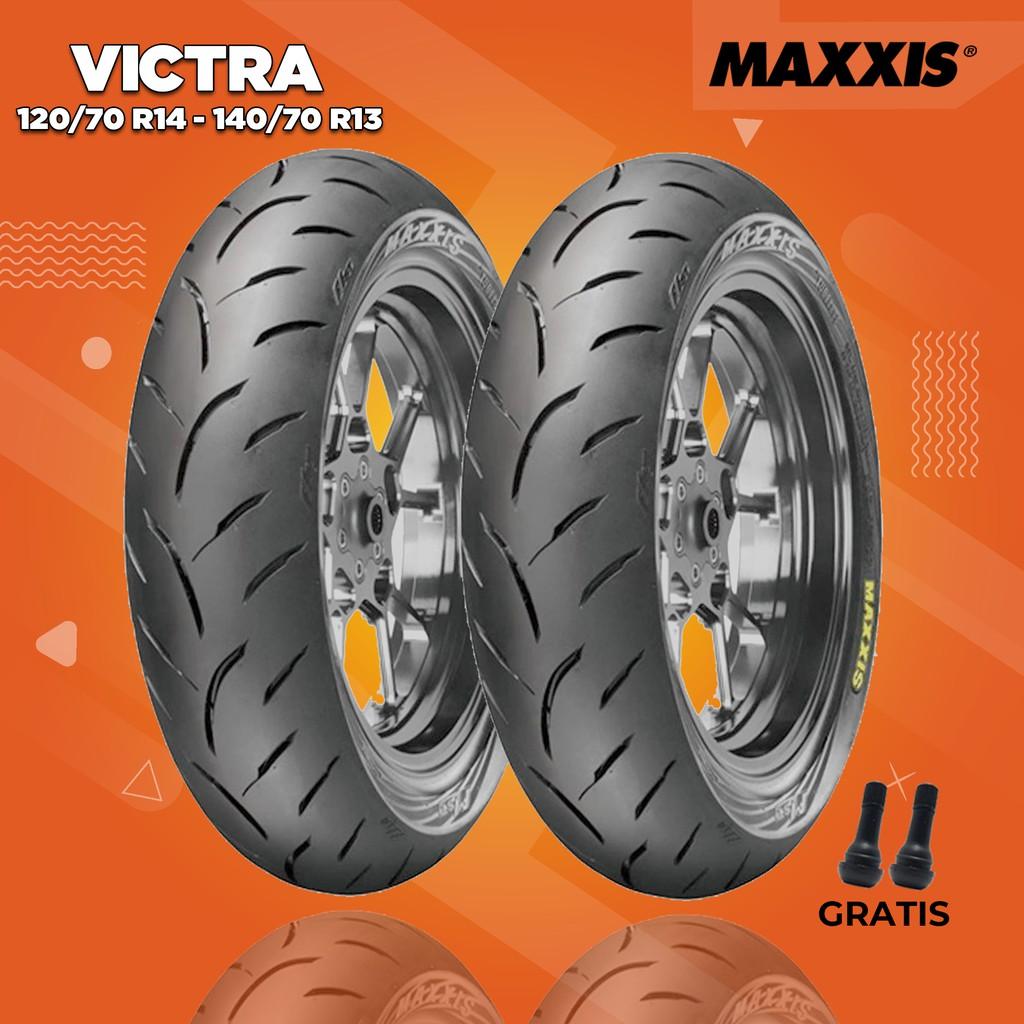 Paket Ban Motor HONDA ADV // MAXXIS VICTRA 120/70 Ring 14 - 140/70 Ring 13 Tubeless