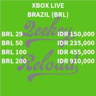 Xbox Live Brazil | Shopee Indonesia