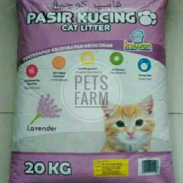 Pasir Kucing Karungan - Zeolit 25 Kg (Nomor 1 / 2 / 3) | Shopee Indonesia