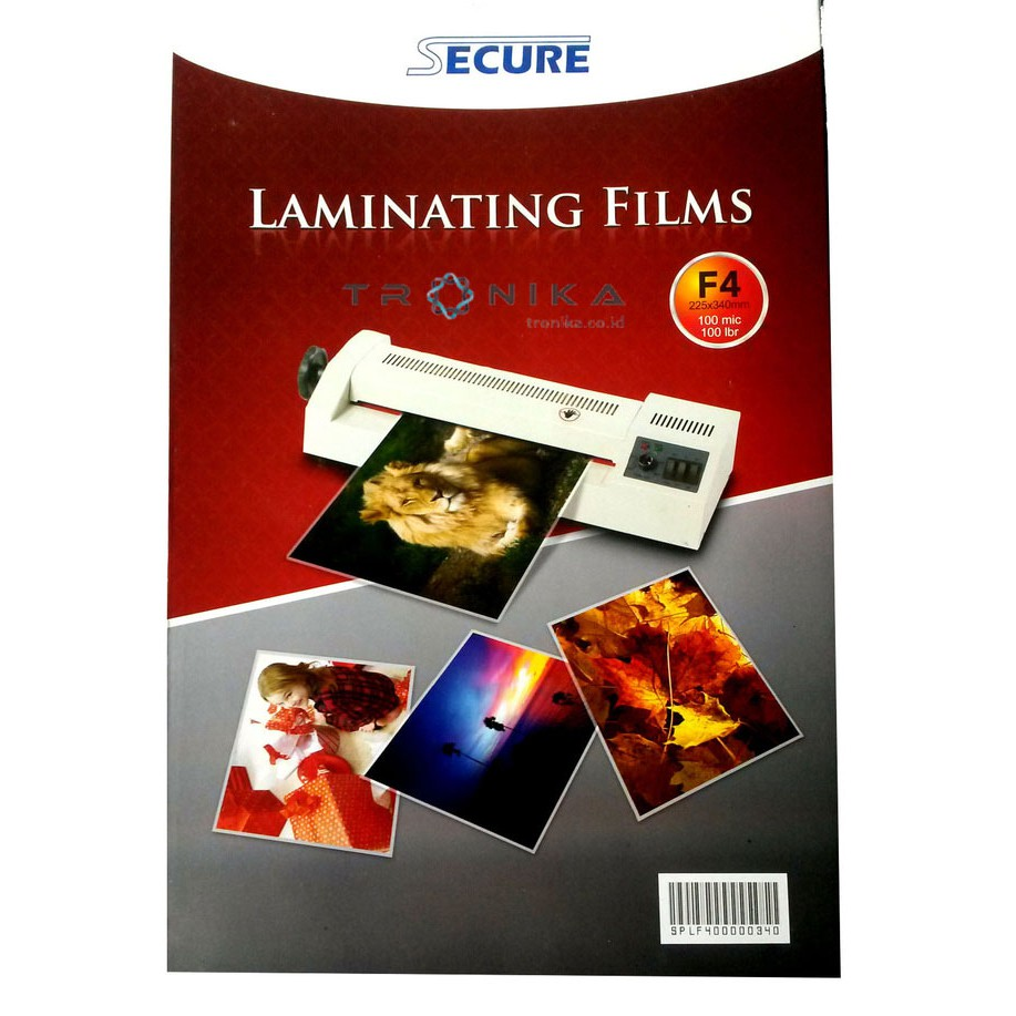 Mesin Laminating Secure Compact A4 Shopee Indonesia