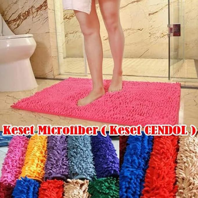 Keset Cendol / Microfiber Anti Slip - Random-Keset (Ready Stock) | Shopee