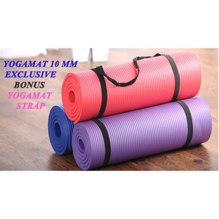 ... Matras Yoga 10mm anti slip kualitas terjamin (Hanya 1kg). suka: 0