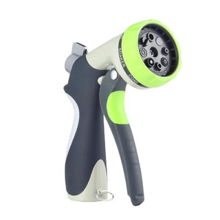 Hose Spray Nozzle >> 8 Pattern High Pressure Garden Hose Nozzle Hand Sprayer Water Gun Spray Nozzle