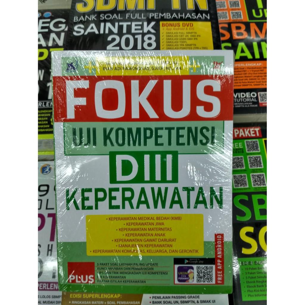 Buku Fokus D3 Keperawatan Shopee Indonesia