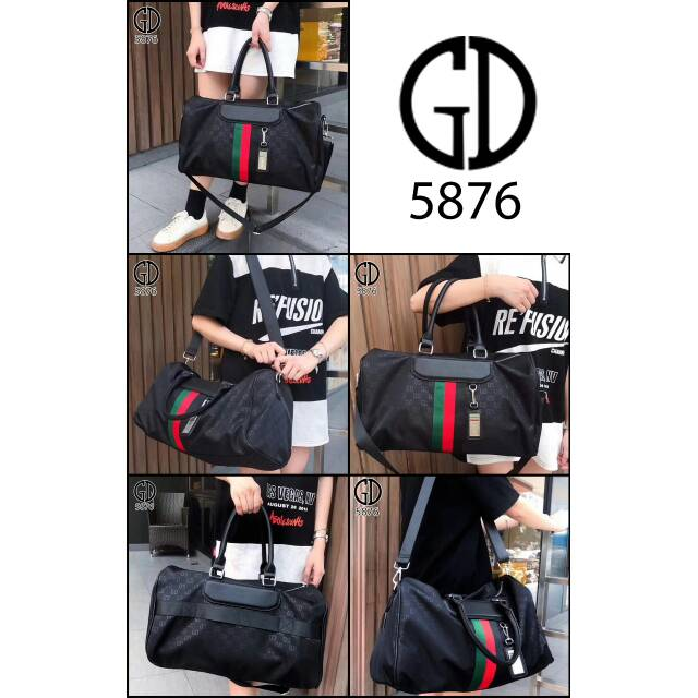 GUCCI GD AGRP Bags Waterfproof Parasut vs Leather Hardware Silver (5876) CE   cd258e8204