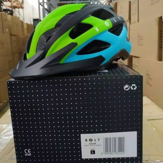 Helm Sepeda Polygon Bolt Shopee Indonesia