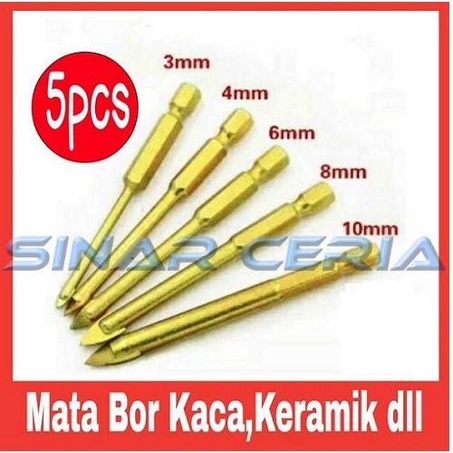 10pc Mata Bor Diamond Batu Keramik Marmer Granit Kaca 3-18mm Hole Saw | Shopee Indonesia