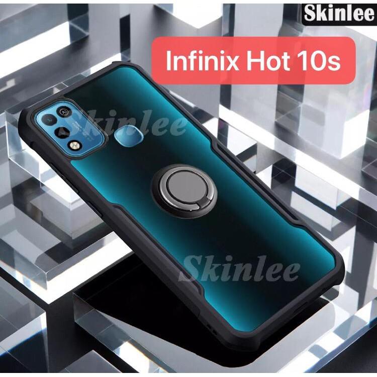 Case Infinix Hot 10s Softcase Silikon Casing Hard Cover Ring Handphone Xundd