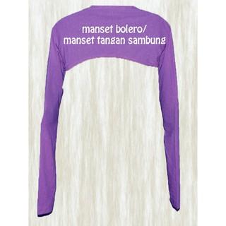 Tangan Sambung /Manset Bolero / Manset Rompi Spandek. suka: 268 .