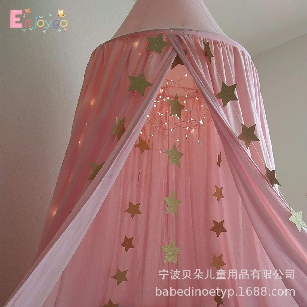 Round Dome Princess Bed Canopy Elegant Beautiful Romantic Best Love For Your Love Enj Shopee Indonesia