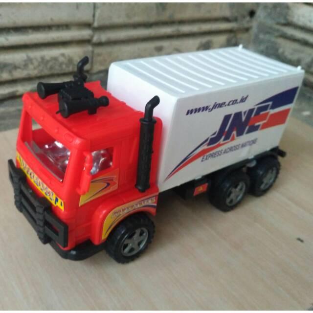 Mainan Mobil Box Truck Jne Fullback Termurah Shopee Indonesia