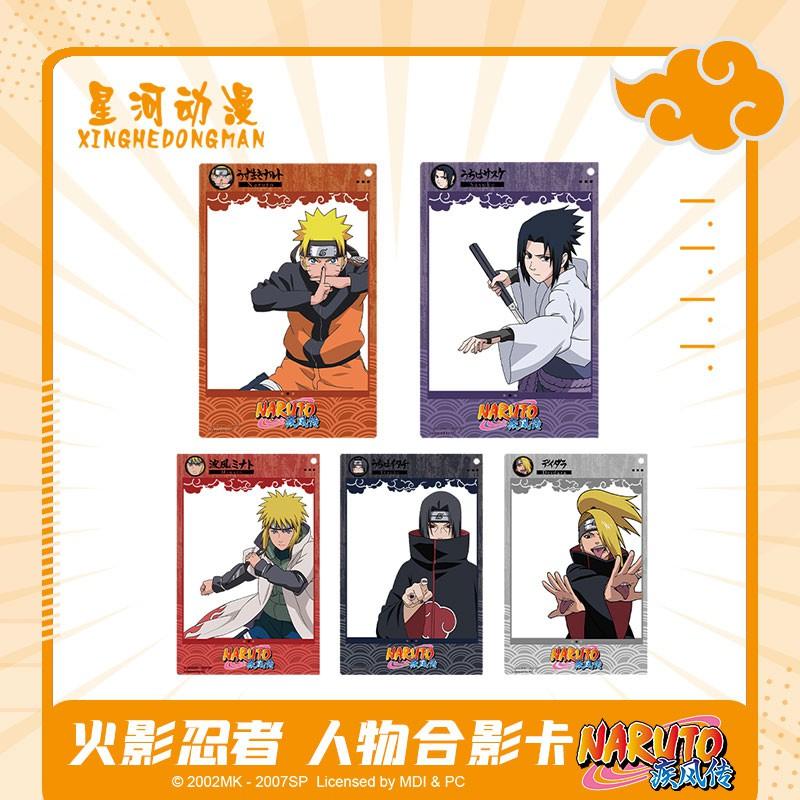 Fashion Ninja tema asli seputar kartu foto karakter Naruto Tong Yu Zhibo empat generasi liontin kart