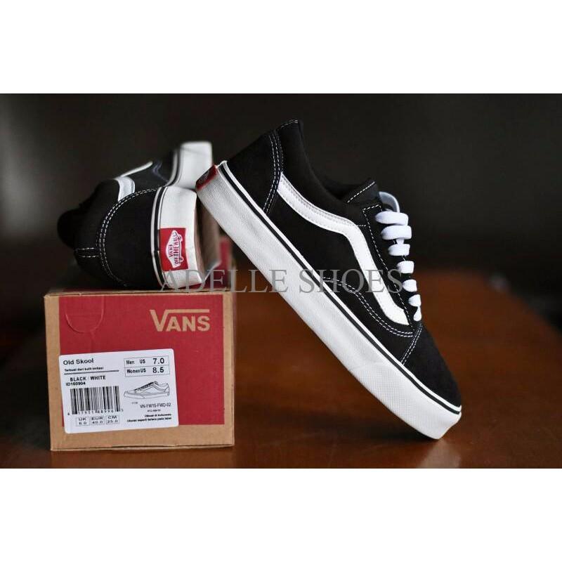 Sepatu Vans Old Skool Premium BNIB Hitam Putih   Sneakers Casual Pria  PALING MURAH  314e52a6b3