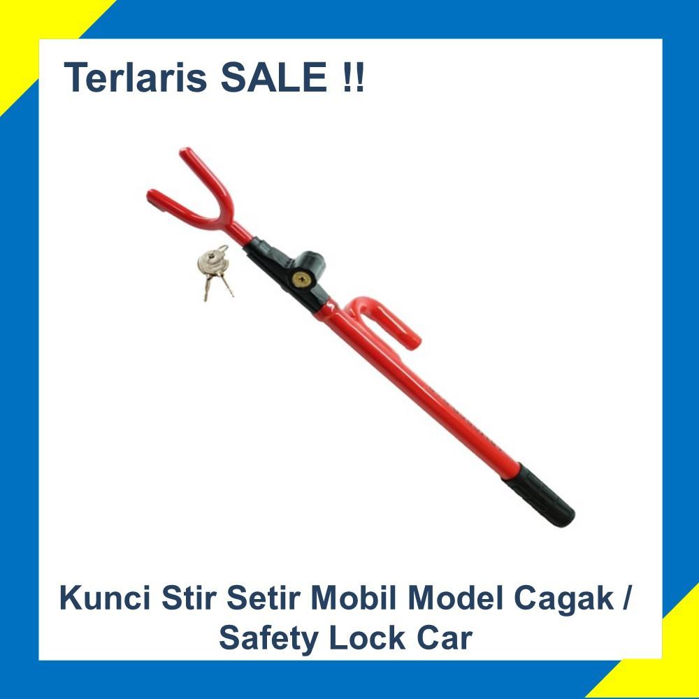 Promo Kunci Stir Mobil Pengaman T Amored Bar Best Seller Oklock P1 6519 Shopee Indonesia