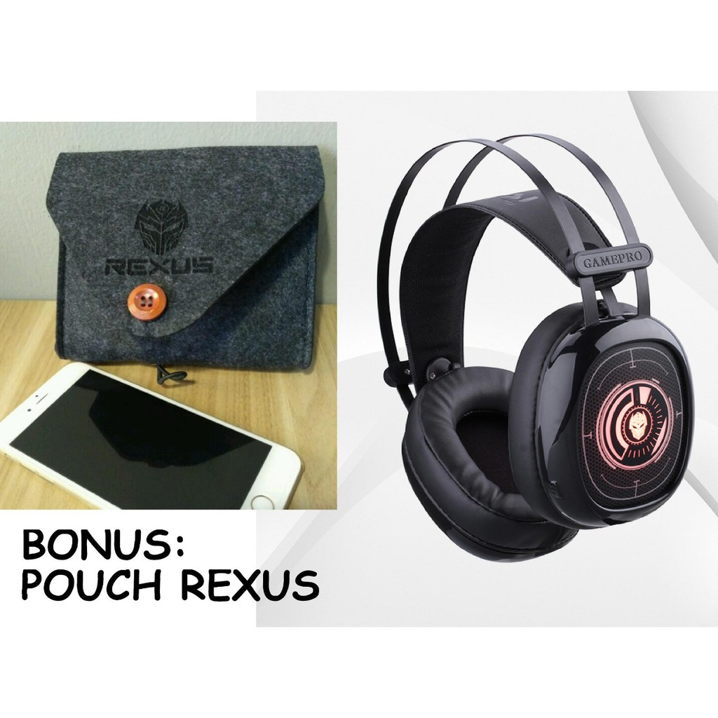Headset Gaming Rexus F55 With Led Mic High Quality F Vonix 55 Shopee Indonesia