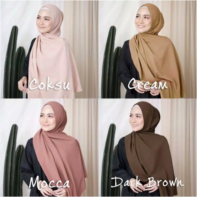 Hijab Pashmina Sabyan Diamond Italiano Grosir Jilbab Kerudung Shopee Indonesia