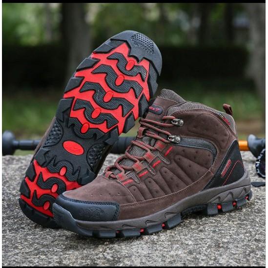 Sepatu Gunung Original SNTA 483 Pria - Sepatu Outdoor Hiking Trekking Climbing Adventure  - Free BUFF 086ac4119e